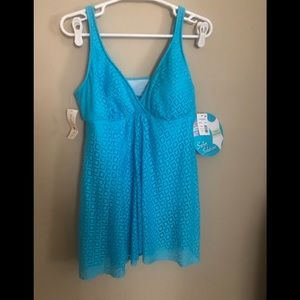 Swim solutions fly away bathing suit